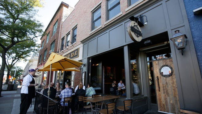 Zach Borowski will take over Sunday as executive chef of sister restaurants Tom's Oyster Bar and Ale Mary's in Royal Oak. Ale Mary's hosted a Top 10 Takeover dinner on Sept. 21, 2015.