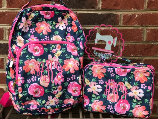 Sew Happy offers accessories like these backpacks as