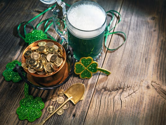 St. Patricks Day concept
