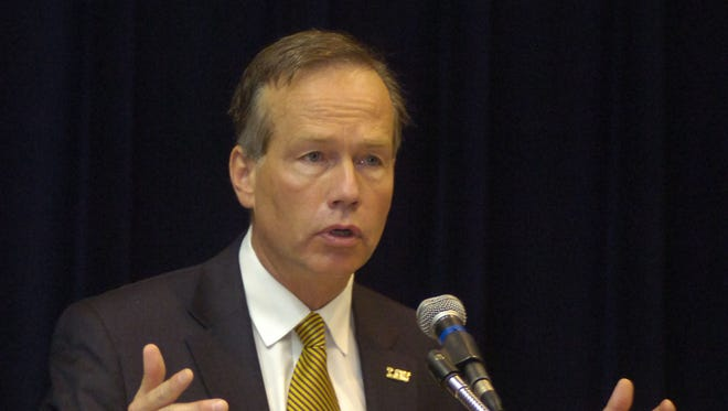 F. King Alexander is in the second year of his tenure as LSU president and is overseeing the university's statewide consolidation.