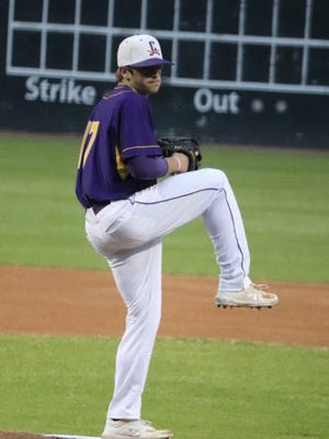 Calvary Day's Jay Wetherington, shown pitching at Grayson Stadium, is the Savannah Morning News' Most Dedicated Male Athlete of the Year for 2020.