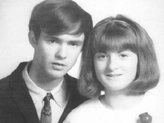 Charles J. and Ruby G. Burden Hatten anniversary