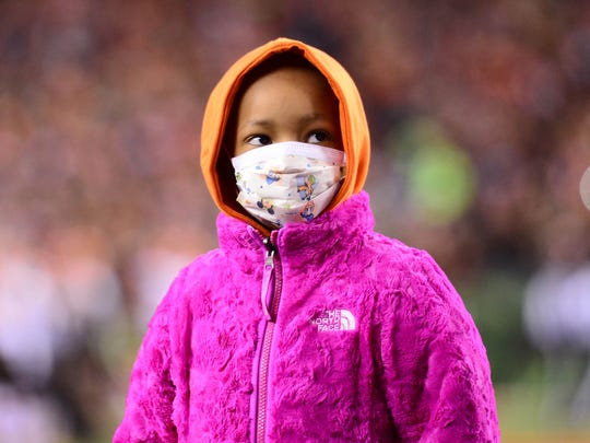Leah Still earlier this month watched her dad play