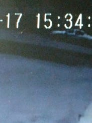 Surveillance images captured from security cameras