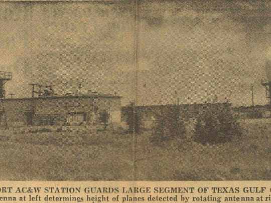 Rockport Aircraft and Warning Station guards a large segment of the Texas Gulf Coast in May 1959.