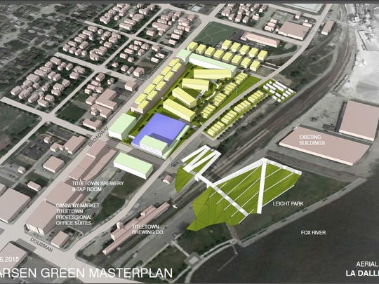 A conceptual drawing of the DDL Holdings proposed redevelopment