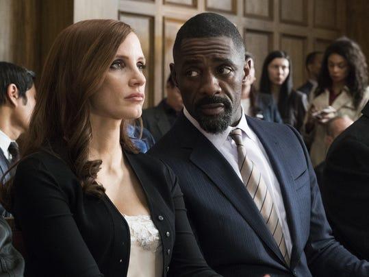 Jessica Chastain, Idris Elba, MOLLY'S GAME