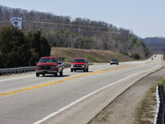 Ky. 245, or Clermont Road, near Interstate 65 where Jim Beam, Bernheim Forest and other Bullitt County tourism attractions are located.