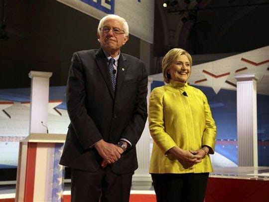 Sen. Bernie Sanders, and Hillary Clinton participated in a Democratic presidential primary debate Feb. 11, 2016 at the University of Wisconsin-Milwaukee. Both are talking more about their support for historically black colleges as they turn their attention toward the South.