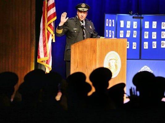 St. Louis Police academy graduation