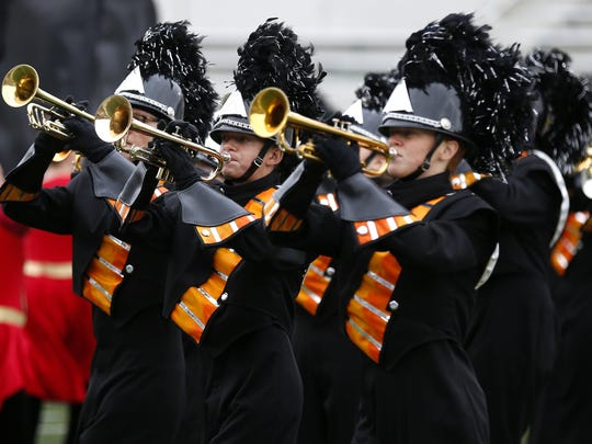 In this 2015 file photo, the Republic High School Marching