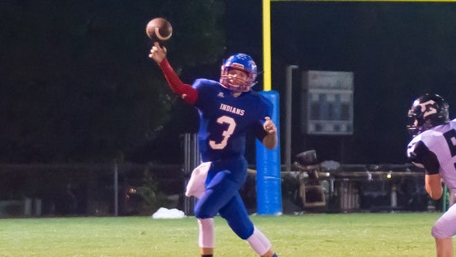 Senior quarterback Walker Weatherly did all he could Friday night but it wasn't enough against a good Camden Central team.