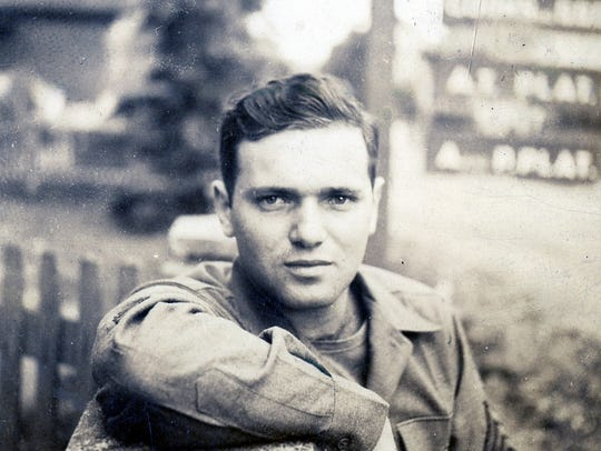 Uncle Bernie as a GI.