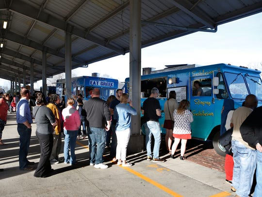 Expect lines at the Food Truck Rodeos at the Rochester