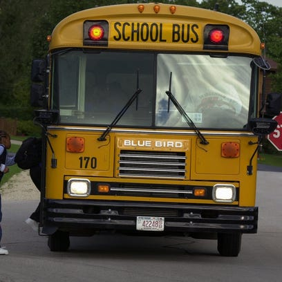 The Village of Mukwonago Police Department warns drivers to stop for school buses loading and unloading