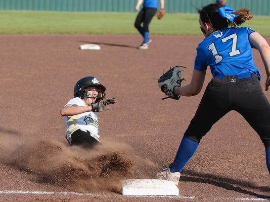 Archer City vs Windthorst softball