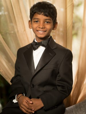 First-time actor Sunny Pawar, 8, plays the young Saroo Brierley in the true story 'Lion.'