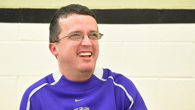 Erik Sampson is a team manager and supporter of Fort Collins High School sports. Sampson started working with the teams when he was a student there and has stayed on ever since.
