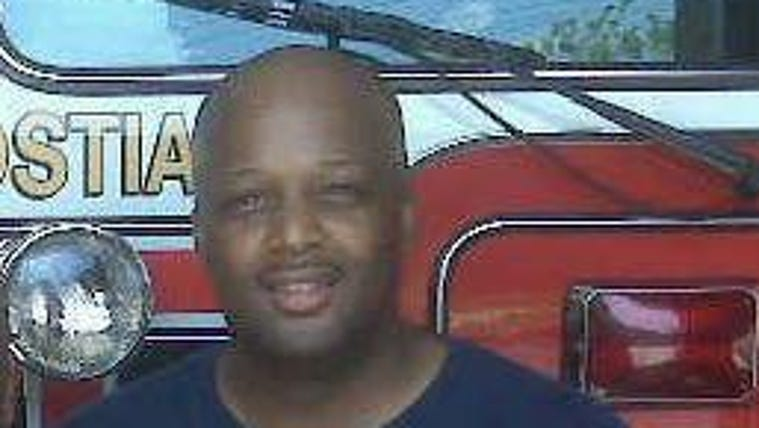 D.C. Firefighter Kevin McRae