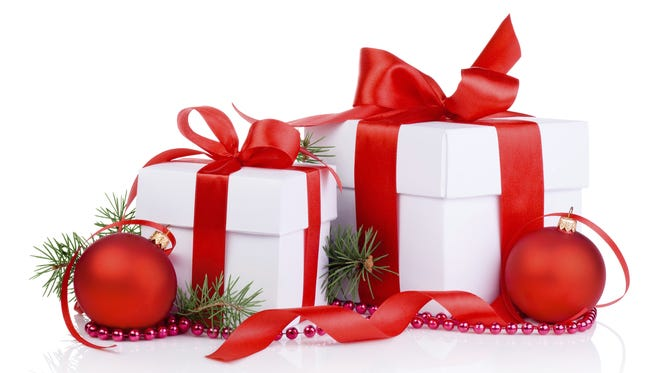 Gifts for Christmas.