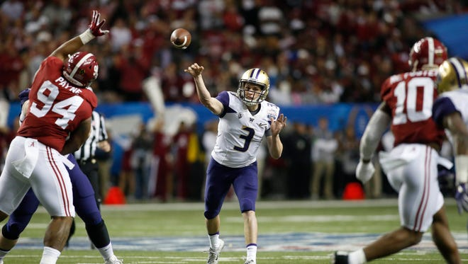 Heading into his junior year, Jake Browning already ranks among the greatest quarterbacks in Washington history.
