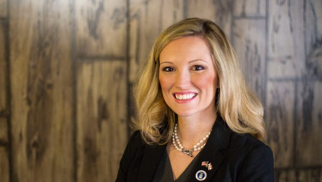 Saundra McDowell, a candidate for Missouri State Auditor in 2018