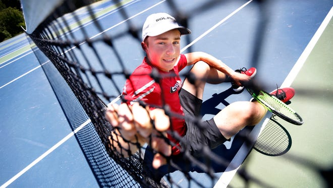 AGR boys tennis: Ryan Fishback of Geneva High School.