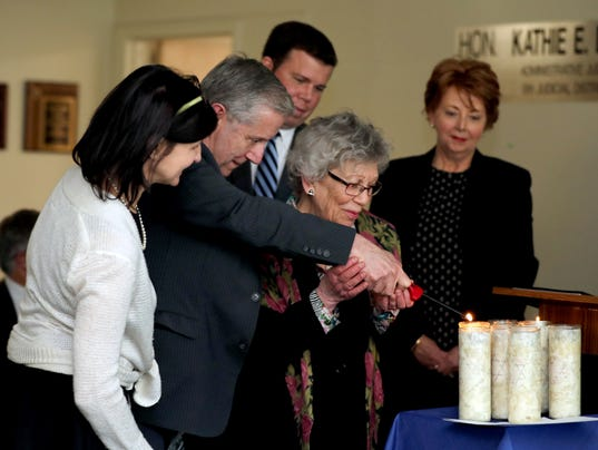 Holocaust Memorial Day ceremony