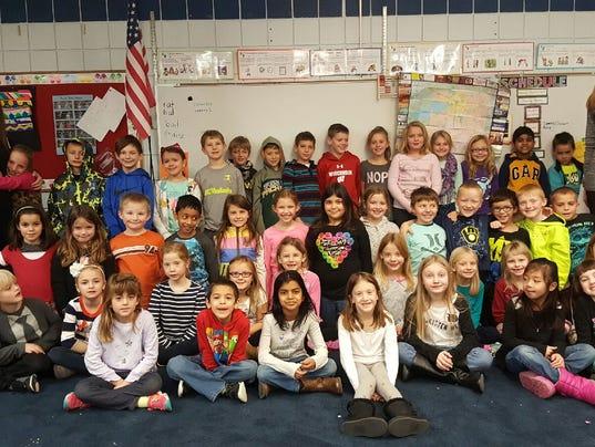 lvg second grade class 0115