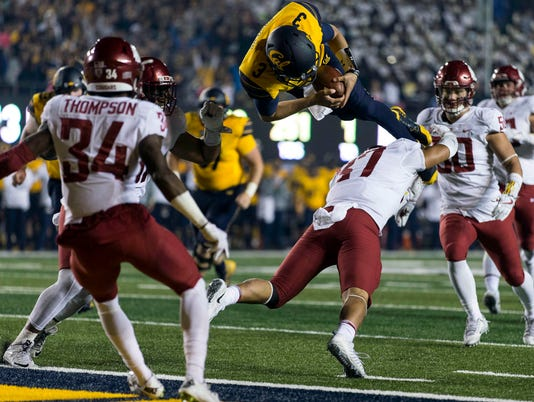 NCAA Football: Washington State at California