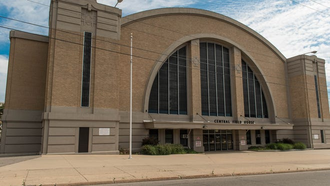 The Battle Creek Central Fieldhouse will be used for five home basketball games this season.