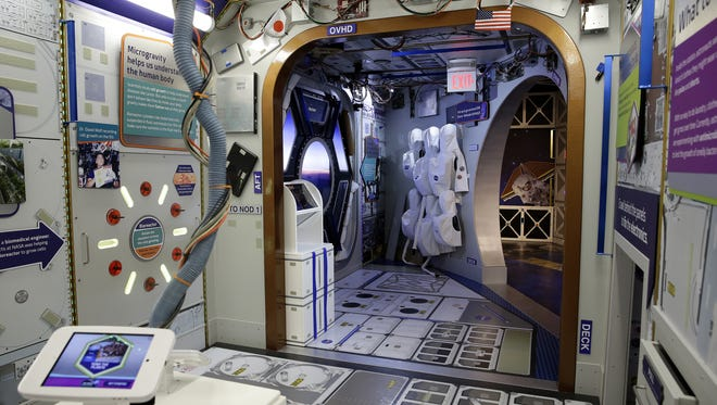 "The Children's Museum of Indianapolis' new ""Beyond Spaceship Earth"" gallery is set to open on June 25, 2016."