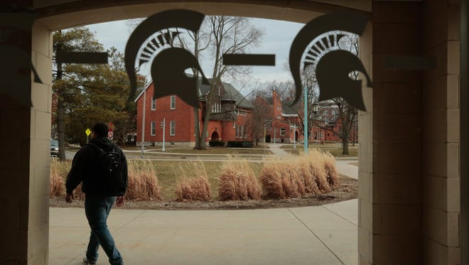 Michigan State University's board of trustees is searching for a permanent president.
