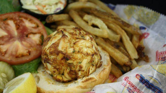 Crabcake Factory USA wins best crab cake sandwich in Maryland.
