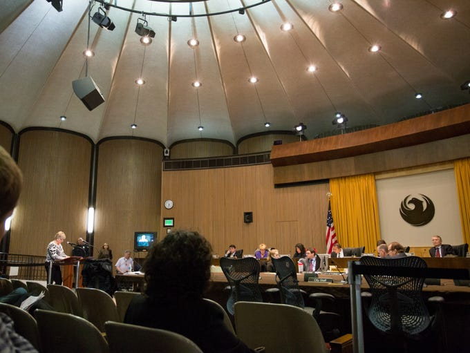A sharply divided Phoenix City Council voted 5-4 Feb.