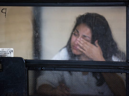 Yvette, 24, was convicted of trafficking a 16-year-old girl in 2015. She is serving a 23-year sentence at a prison in Gatesville, Texas.