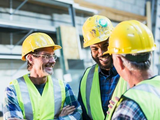 Men who work in fields characterized by loud sounds