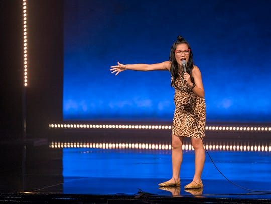"Ali Wong in ""Hard Knock Wife."""