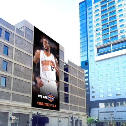 The Suns will be hanging a LaMarcus Aldridge banner
