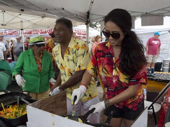 The Downtown Fort Pierce Farmers' Market is every Saturday from 8 a.m. to noon, rain or shine.