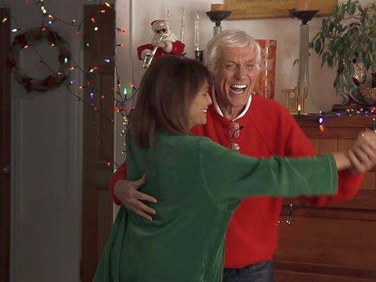 Valerie Harper and Dick Van Dyke in 'Merry Xmas,' 2015.