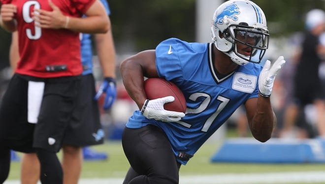 """Rookie Ameer Abdullah: """"There's a lot of things I still need to clean up before I'm ready to go out there."""""""