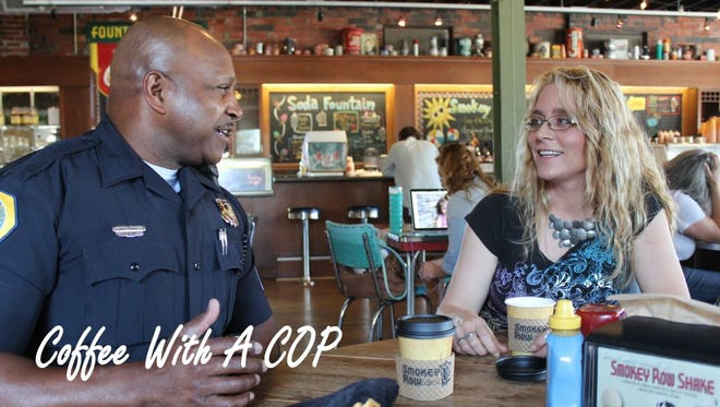 Des Moines starts Coffee with a Cop series in October.