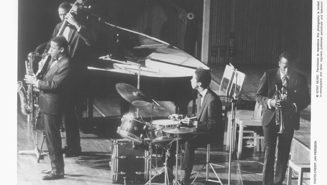 The recordings bassist Ron Carter made with the Miles Davis Quintet between 1963-68 remain highly influential among musicians 50 years later. The band pictured includes Davis, trumpet, Tony Williams, drums; Wayne Shorter, tenor sax, Carter, bass; and Herbie Hancock, piano.