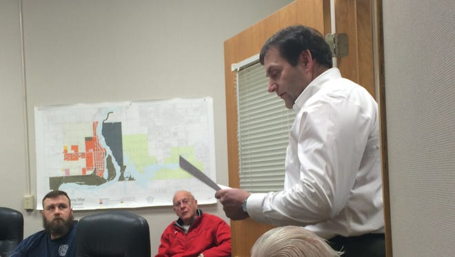 Former Port Edwards Village Administrator Joe Terry expressed disappointment in recent hirings in the Police Department