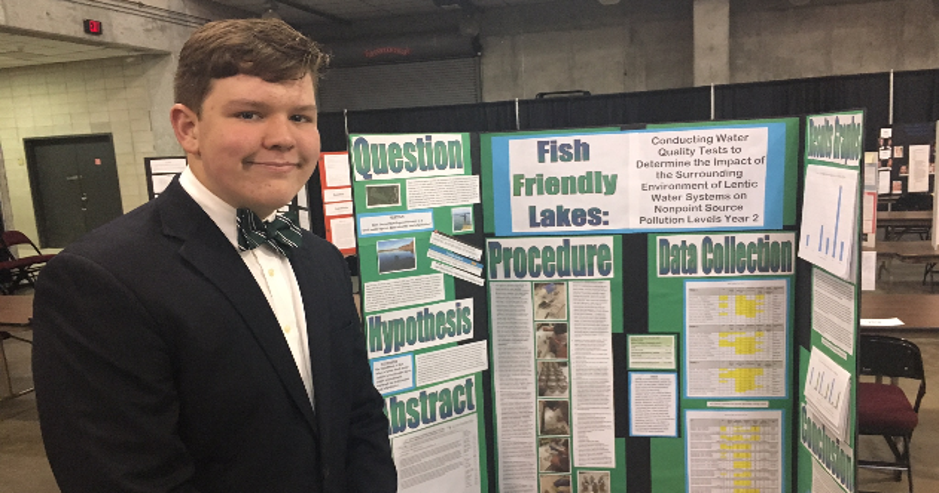 Student's science project goes on to get top STEM recognition