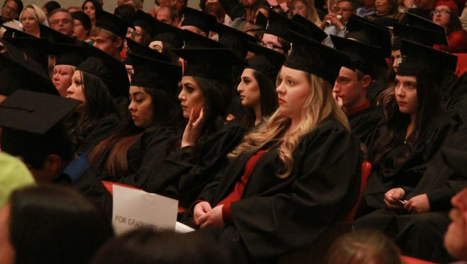 New Mexico State University Carlsbad held its 42nd annual commencement. More than 120 students graduated on Friday.