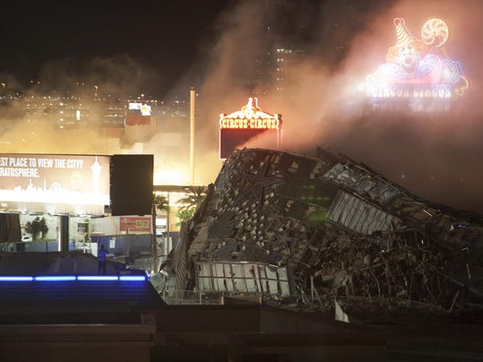 ainsworth gaming las vegas building implosions