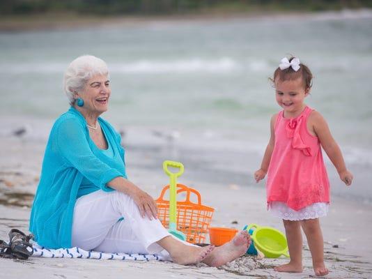 Nancy Schlossberg with granddaughter X127_6246_9