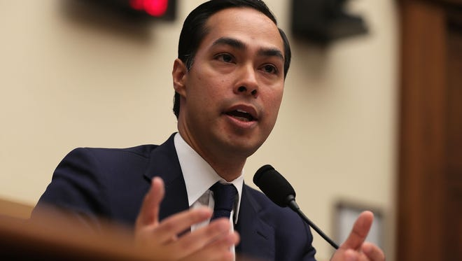 U.S. Secretary of Housing and Urban Development  Julian Castro testifies July 13, 2016 on Capitol Hill in Washington, DC.